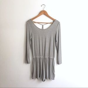 American Eagle soft and sexy long sleeve romper